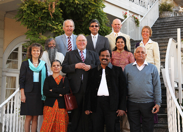Delegation der AYUSH in Bad Ems