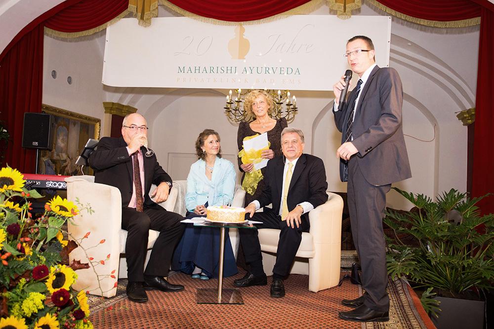 Ehepaar Pirc mit Hotelier-Familie Häcker