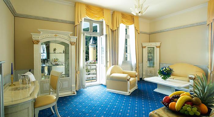 Häcker's Grand Hotel – Zimmer