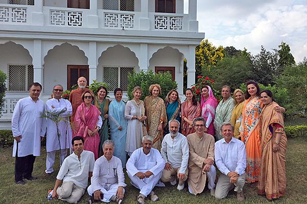 Brahmasthan, Indien, Kursteilnehmer