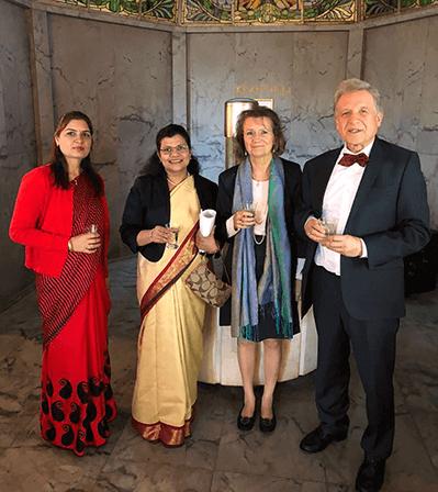 Soni Dahiya, Pratibha Parkar, Dr. Karin Pirc, Lothar Pirc