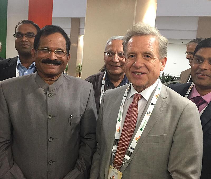 AJUSH-Minister und Lothar Pirc