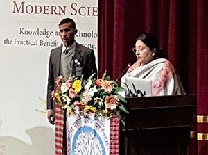 Ministerpräsidentin Nepals, Bidhya Devi Bhandari