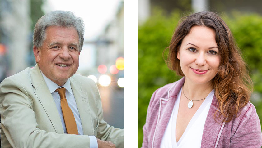Lothar Pirc u. Claudia Servaty