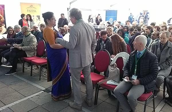 Lothar Pirc, indische Botschafterin