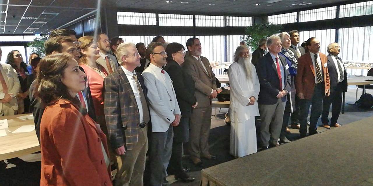 Redner und Teilnehmer der Konferenz, Den Haag, 2020